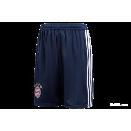 Adidas Short Bayern Home Navy/Bianco