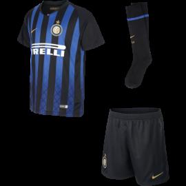 Nike Set Inter Home Nero/Oro Bambino