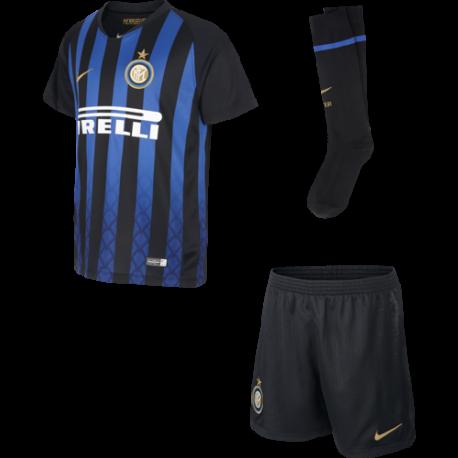 Nike Set Bambino Inter Home Nero/Oro