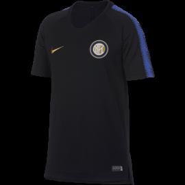 Nike T-Shirt Mm Inter Squad Training Nero/Royal Bambino