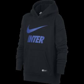 Nike Felpa C/Capp Inter Core Nero/Royal