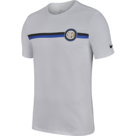 Nike T-Shirt Mm Inter Crest Bianco