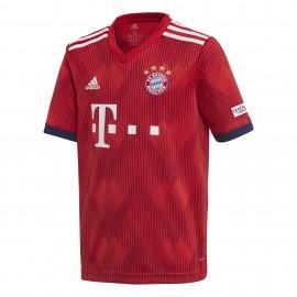 Adidas T-Shirt Bambino Mm Bayern Home Rosso