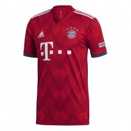 Adidas T-Shirt Mm Bayern Home Rosso
