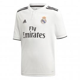 Adidas T-Shirt Bambino Mm Real Madrid Home Bianco/Nero