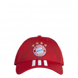 Adidas Cappellino Bayern Rosso
