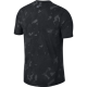 Nike T-Shirt Run Tailwind Pr  Black/Black