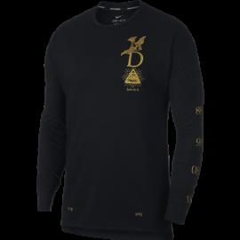 Nike Shirt Run Ml Tailwind Gx  Black