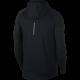 Nike Hoodie Run Ml F/Zip Elmnt  Black