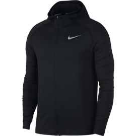 Nike Hoodie Run Ml F/Zip Elmnt  Black