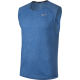 Nike Canotta Run Tailwind Slv Cl  Signal Blue/Htr Donna