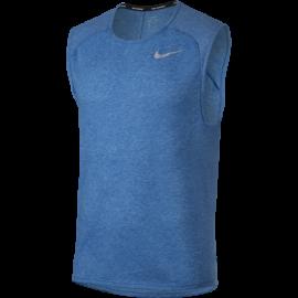 Nike Canotta Run Tailwind Slv Cl  Signal Blue/Htr