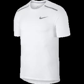 Nike T-Shirt Run Brthe Rise 365 1.0  White/Metallic Silver