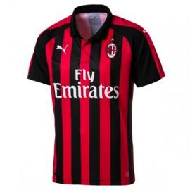 Puma T-Shirt Mm Home Ac Milan Rosso/Nero