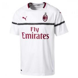 Puma T-shirt Mm Away Ac Milan Bianco/Rosso Uomo