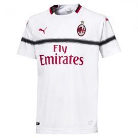 Puma T-shirt Mm Away Ac Milan Bianco/Rosso Bambino