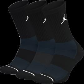 Nike Calza Jordan Evry Max Crew 3pk  Nero