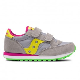 Saucony  Jazz Double Hl Ps  Grey/Yellow Bambino