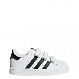 Adidas Superstar Cf I Td  Bianco/Nero Bambino