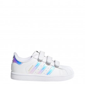 Adidas  Junior Superstar Cf I Td  Bianco/Multi
