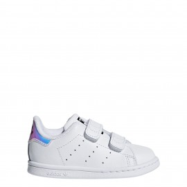 ADIDAS originals stan smith cf i td  bianco/multi bambino