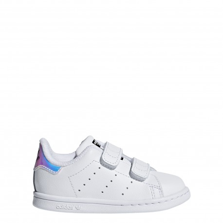outlet store 910ce 21962 style ADIDAS originals stan smith cf i td bianco multi bambino aq62.
