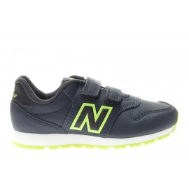 New Balance 500 Syntetic Ps  Blu/Verde Bambino