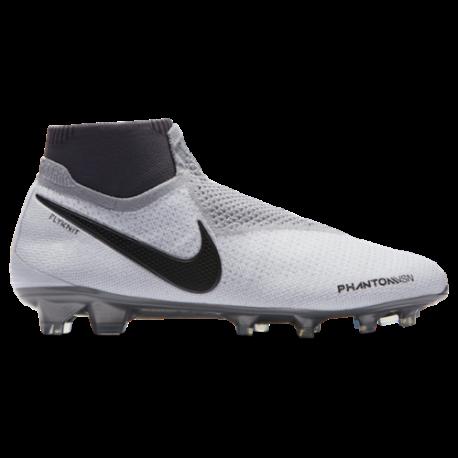 Nike Phantom Elite Df Fg Grigio/Rosso
