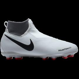Nike Phantom Academy Df Mg Grigio/Rosso Bambino