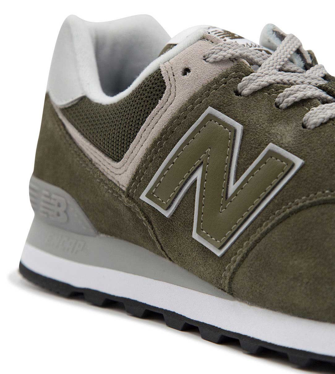 new balance 574 verdi in pelle