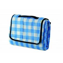 Meru Coperta Picknick Woodstock Blue Checked