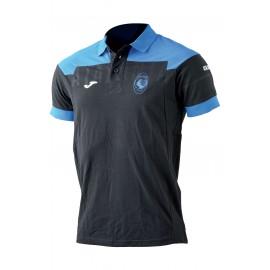 Joma Sport Polo Bambino Mm Atalanta Nero/Azzurro