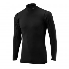 Mizuno Bt T-Shirt Ml Run Lupetto Middleweight Nero