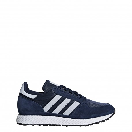 Adidas Originals Forest Grove Blu Beige Uomo