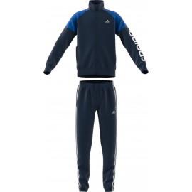 Adidas Tuta Linear Blu Bambino