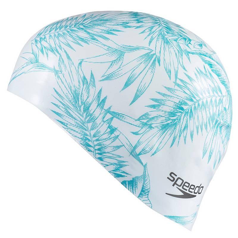 SportShock Speedo Cuffia Silicone Capelli Lunghi Bianco Donna 68 11