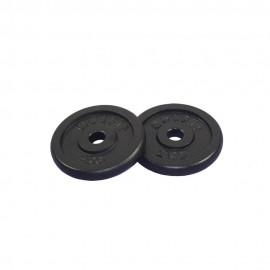 Get Fit Black Plate Ghisa Box x 2 Pz x 2 Kg