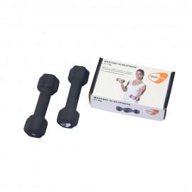 Get Fit Neoprene Dumbbell Box 2 PZ x 0,5 Kg