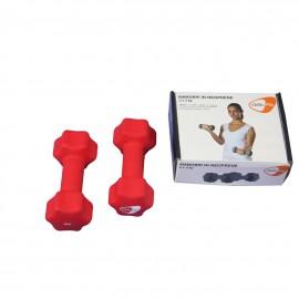 Get Fit Neoprene Dumbbell Box 2 PZ x 3 Kg