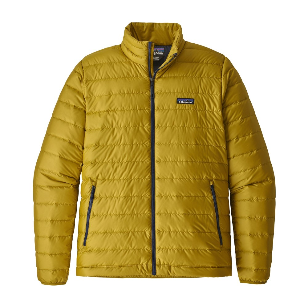 official photos 95076 d1d96 Trekking Patagonia Giacca In Piuma Down Sweater Giallo Uomo 84674,T...