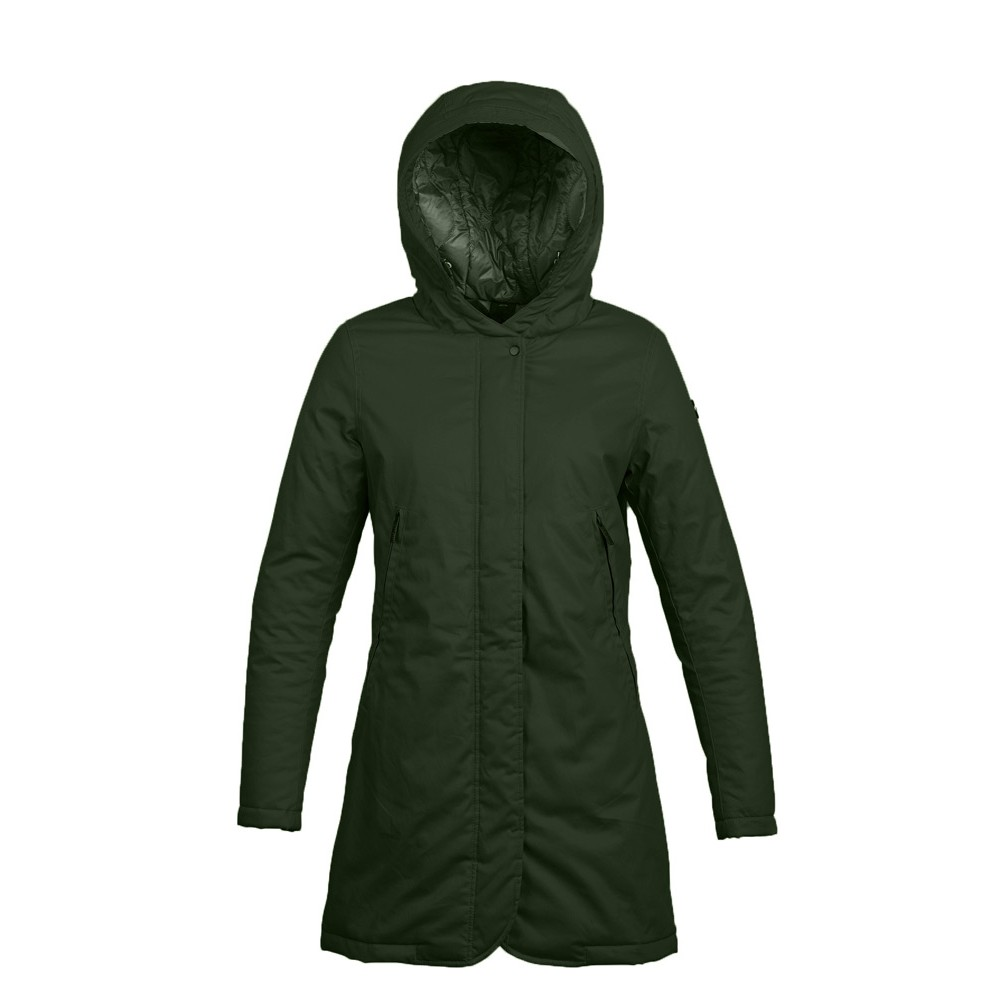 cheap for discount 918b4 dcb95 SportShock Iceport Mini Parka Verde Donna IPWJ03111,1924 - Acquista...