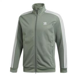 Adidas Originals Felpa Beckenbauer Zip Verde Uomo