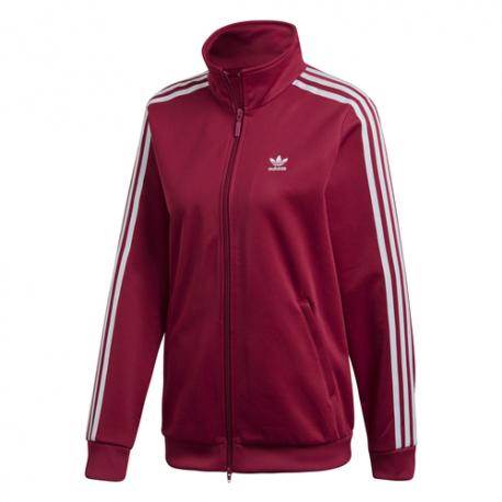 online retailer c92ec 71c10 sportshock ADIDAS felpa con cerniera zip contemporary bordeaux donn...