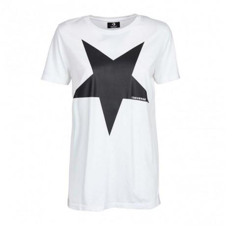 dc14952ae0 SportShock Converse T-Shirt MM Bianco Donna 10008920-A01 - Acquista...