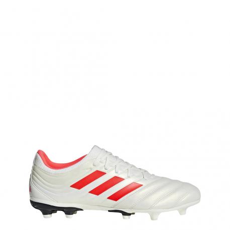 Adidas Copa 19.3 FG Bianco Rosso Uomo