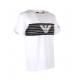 EA7 T-Shirt Logo Aquila Bianco Uomo