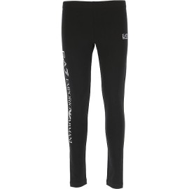 EA7 Leggings Big Logo Nero Donna