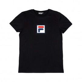Fila T-Shirt Logo Nero Uomo