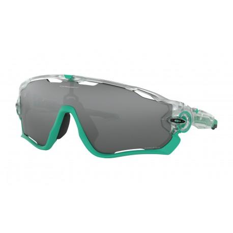 vendita calda online a2896 93900 Ciclismo Oakley Occhiali Da Sole Jawbreaker Bianco Nero Uomo OO9290...