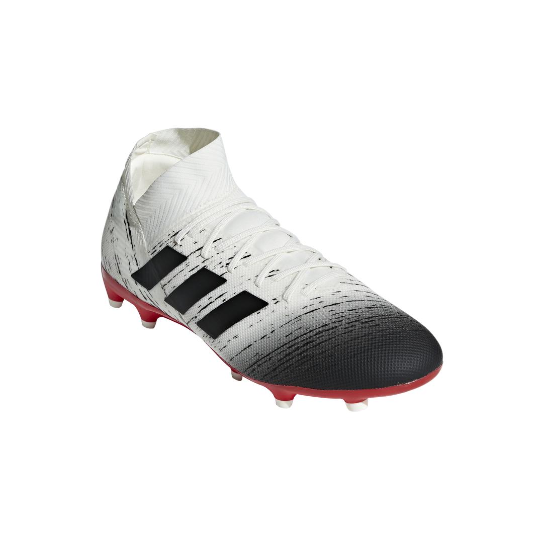 buy online 002b8 5e965 Calcio ADIDAS nemeziz 18.3 fg bianco nero uomo BB9437 - Acquista su.